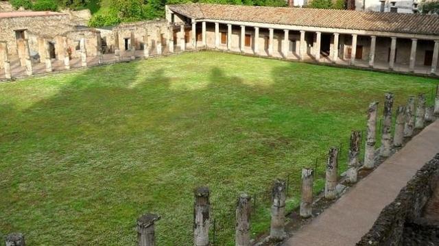 El yacimiento arqueológico de Pompeya, en el sur de Italia. EFE