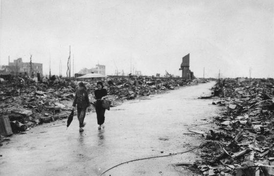 Imagen tomada el 8 de septiembre de 1945 de lo que quedaba de Hiroshima. / AP Photo/U.S. Air Force