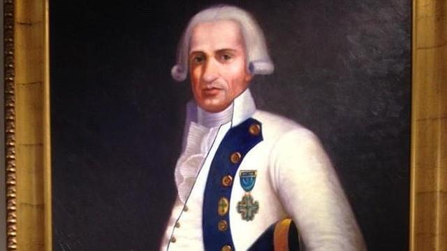 m. turner El general Gutiérrez, en un óleo de Candelaria Rodríguez