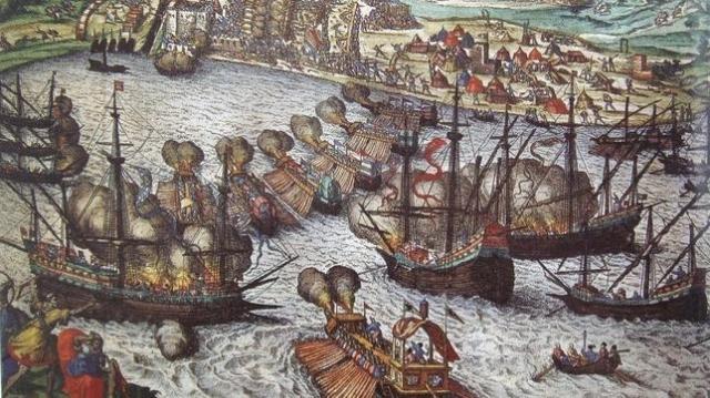 Wikimedia | El sitio de La Goleta fue la principal victoria de Doria contra el pirata