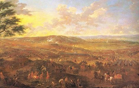 ABC | Batalla de Zaragoza en 1710, cuando la caballería al mando de Benavides se hizo con parte de la artillería enemiga