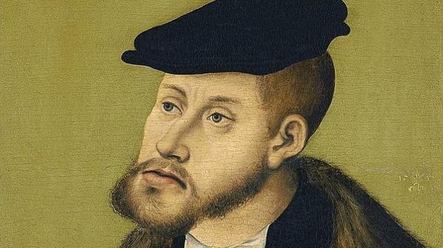 Thyssen-Bornemisza Retrato del Emperador Carlos V en 1533