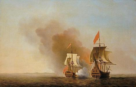 Wikipedia Episodio naval de la Guerra del Asiento
