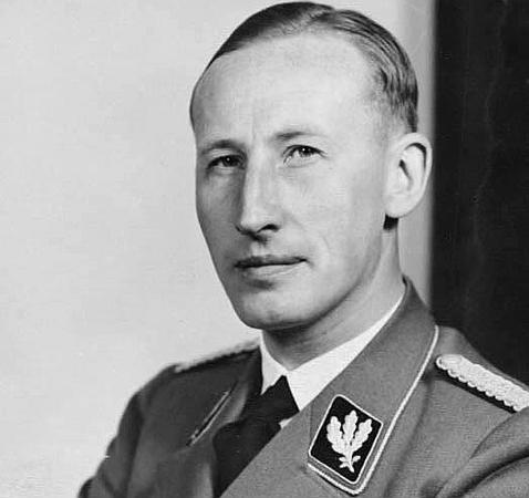 Reinhard Heydrich, artífice de la apertura del campo de Terezin Wikimedia