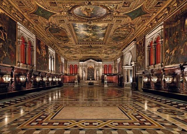 ABC Sala Superior de la Scuola Grande di San Rocco, la Capilla Sixtina de la pintura veneciana