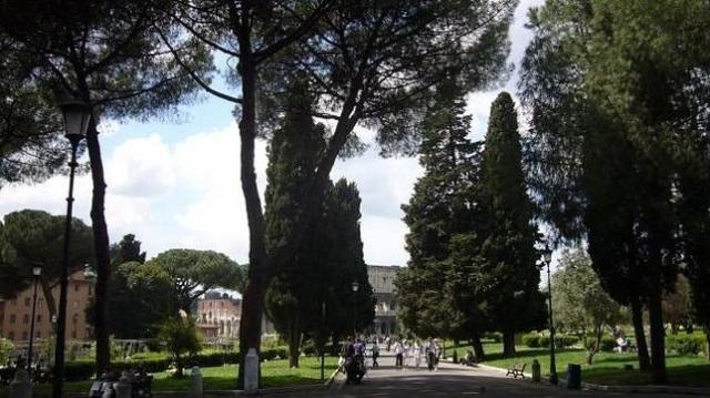 Á.G.F. La ahora llamada plaza Martín Lutero, en Roma