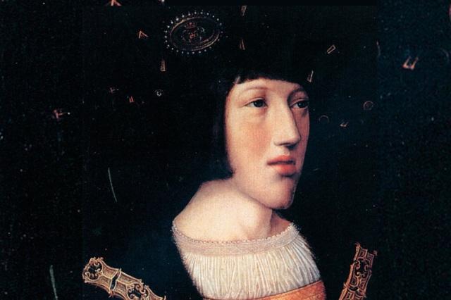 Carlos V en 1516