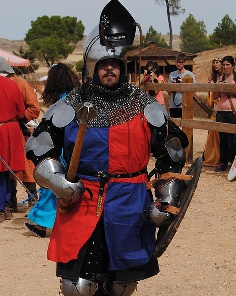 Daniel de la Flor, preparado para combatir Manuel P. Villatoro