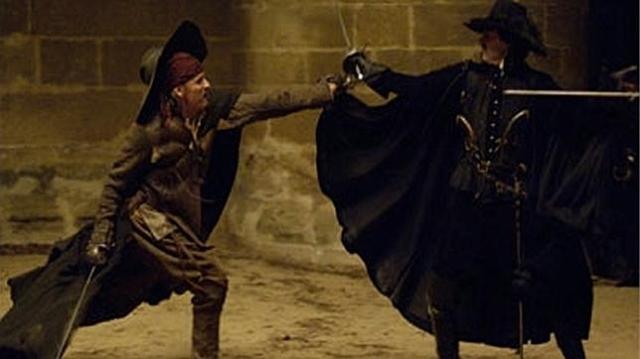 Archivo El «Capitán Altriste» se enfrenta a un enemigo en un duelo clandestino