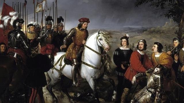 mUSEO DEL pRADO El Gran Capitán observa el cadáver del Duque de Nemours tras la batalla de Ceriñola
