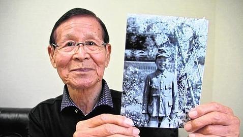 Fujio Torikoshi, superviviente de Hiroshima (PABLO M. DÍEZ)