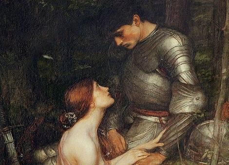 Wikipedia Lamia y el soldado de John William Waterhouse