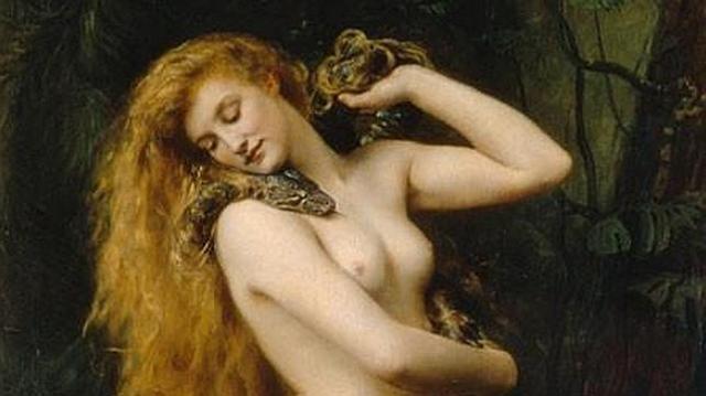abc Representación de Lilith (1892), por John Collier