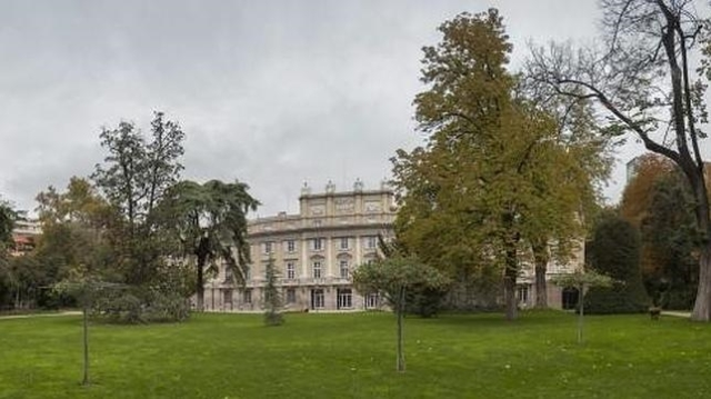 MATIAS NIETO Palacio de Liria, residencia de la Casa de Alba en Madrid