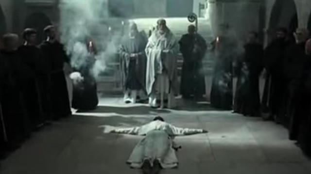 youtube Imagen de la película, «La Pontífice», que relata el mito de Juana