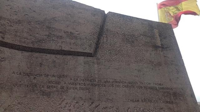 abc En la imagen, la profecía maya sobre la llegada de los nuevos «huéspedes»