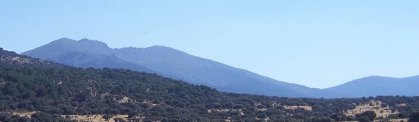 Cumbre de la Mujer Muerta, límite natural entre Segovia y Madrid