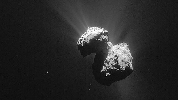 El cometa 67/P fotografiado por la sonda 'Rosetta' / ESA