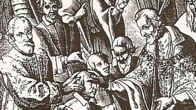 BNF Enrique IV de Francia curando a los enfermos