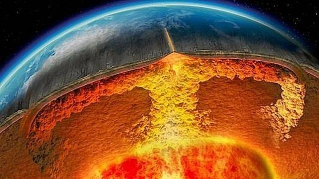 ABC | Imagen de la supuesta apariencia actual del núcleo terrestre