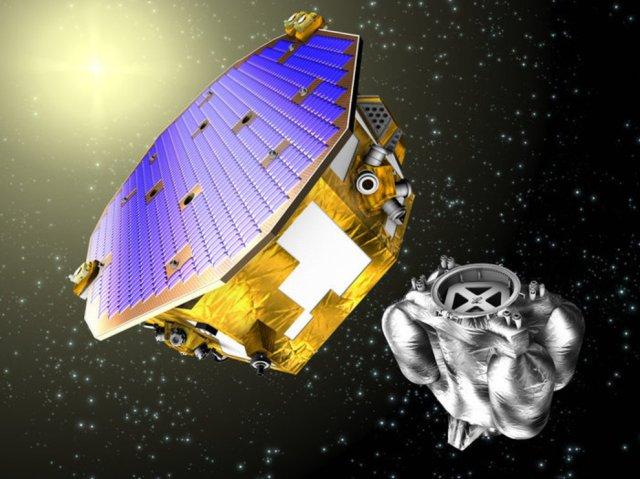 Recreación de la nave 'Lisa Pathfinder', que será lanzada el 2 de diciembre. ESA