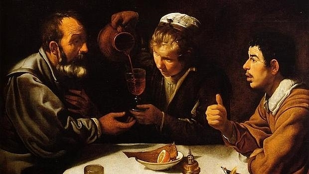 Comida de pícaros, de Diego de Velázquez