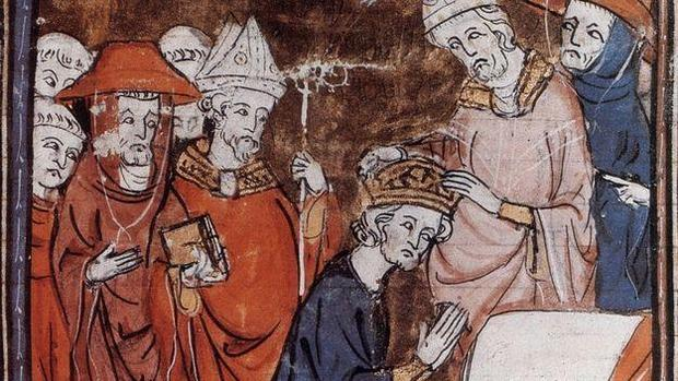 Pintura de la coronación de Carlomagno - ABC