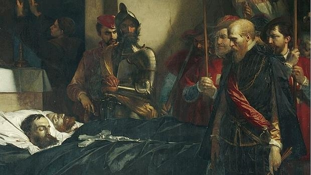 Los últimos honores a los condes de Egmont y Horn, por Louis Gallat - Museo de Brooklyn