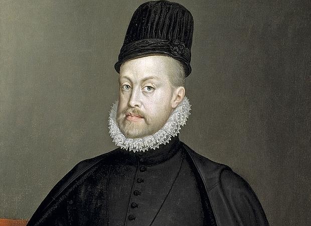 Retrato de Felipe II, que aparece citado en el himno de Holanda como Rey de España - ABC