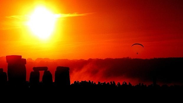 El megalito del Stonehenge, en Gran Bretaña, fue un escenario para celebrar el solsticio de invierno - Taro Taylor
