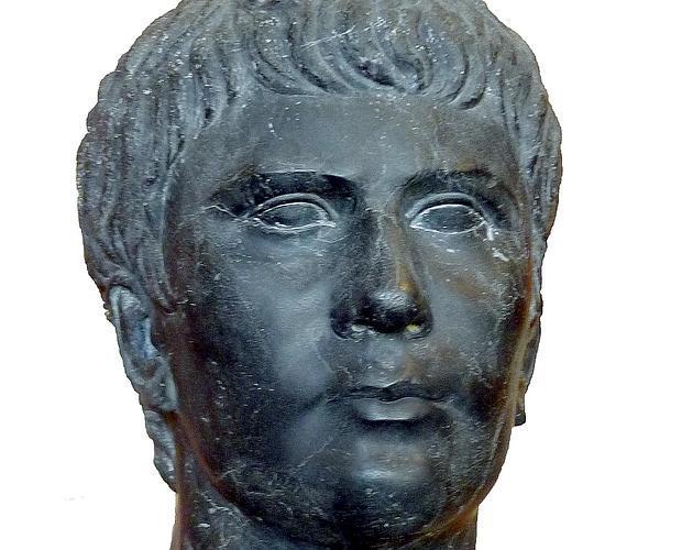 Busto de Marcus Vipsanius Agrippa Postumus - Louvre