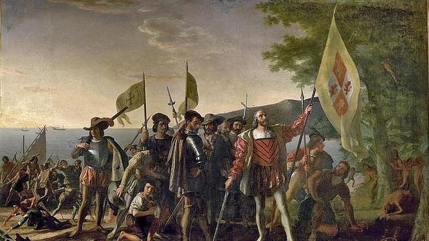«La llegada de Colón», de John Vanderlyn - WIKIPEDIA