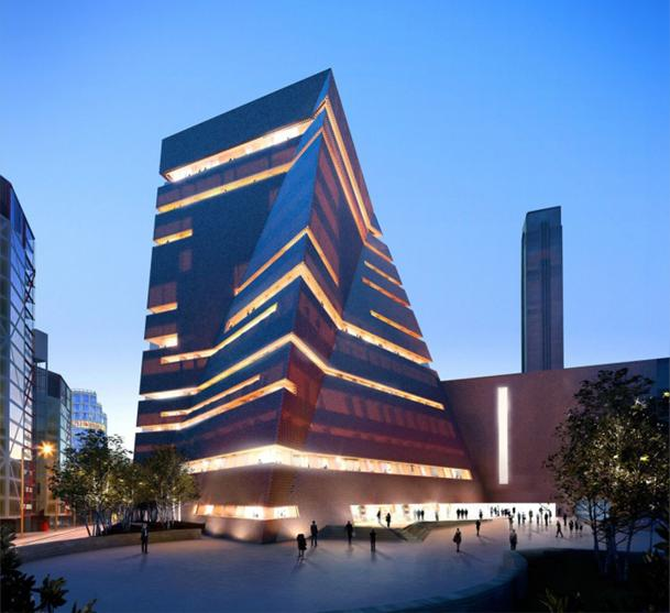 Nuevo Tate Modern, Museo Nacional Británico de Arte Moderno