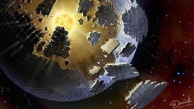 Las extrañas oscilaciones de luminosidad de la estrella han llevado a pensar en una gigantesca estructura alienígena - SETI