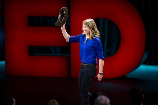 Sarah Parcak, la 'Indiana Jones' del espacio. MARLA AUFMUTH/TED