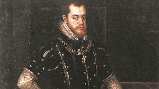 Felipe II, por Tiziano - ABC