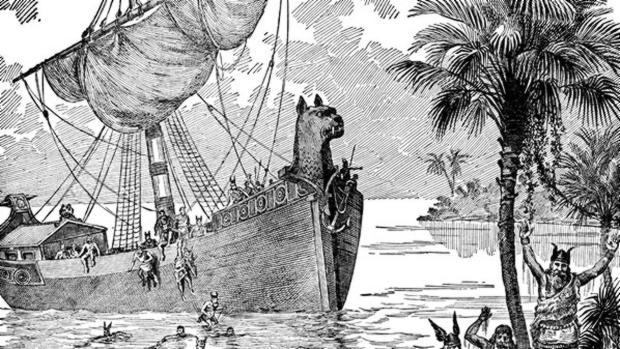 Dice la leyenda que los vikingos se orientaban en días nublados gracias a las «piedras solares» - Wikimedia