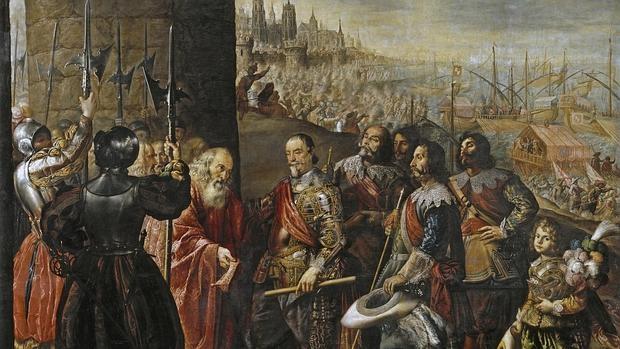 El socorro de Génova por el segundo marqués de Santa Cruz, de Antonio de Pereda - Museo del Prado
