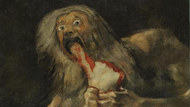 Saturno devorando a un hijo, de Francisco de Goya - Museo del Prado