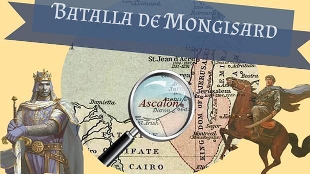 Balduino IV venció a Saladino gracias a una carga de caballería - Laura Albor Escaño (Infografía interactiva, en el interior del texto)