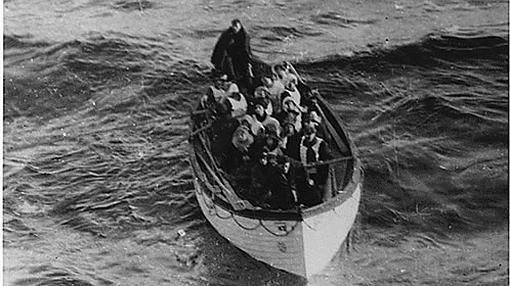 Uno de los botes salvavidas- ABC