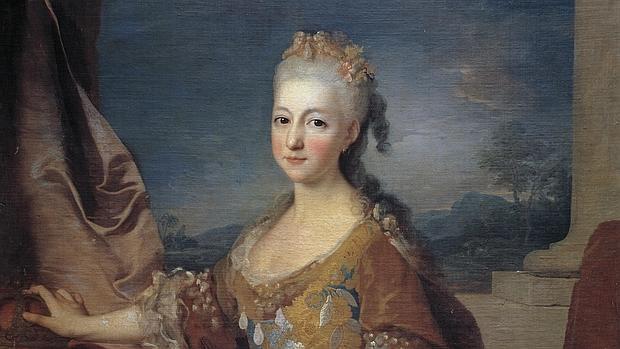 Retrato de Luisa Isabel de Orleans, por Jean Ranc - Wikimedia