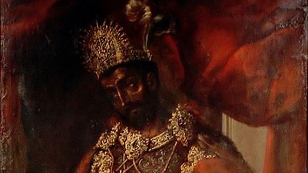 Retrato anónimo de Moctezuma II, que dio nombre a un teroso que poco tenía que ver con él