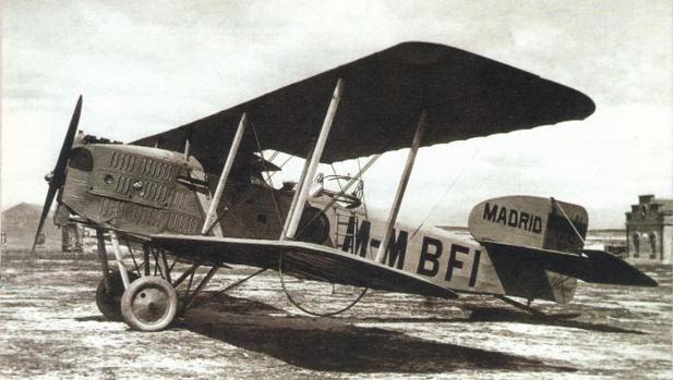 Bristol similar al que voló Ordiales - Wikimedia