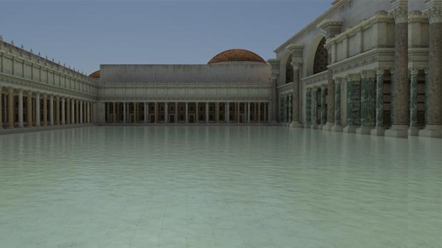 La Natatio de las Termas de Trajano, la piscina más grande del imperio romano - ABC