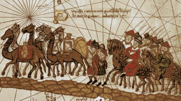 La comitiva de Marco Polo atraviesa la India - Wikimedia