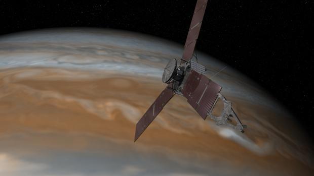 Ilustración de la misión Juno de la NASA - NASA