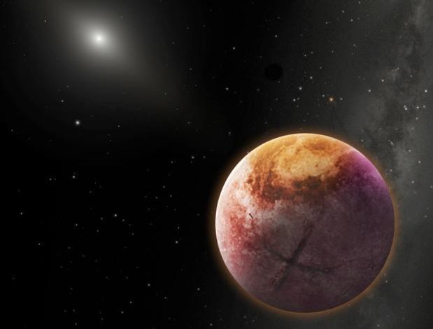 Recreación artística del Planeta X - Robin Dienel