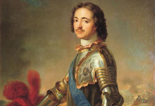 Retrato de Pedro III «El Grande»- Wikimedia