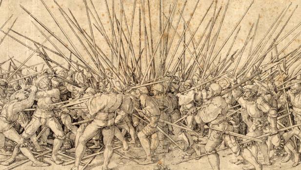 Mala guerra, de Hans Holbein «el Joven» - Wikimedia